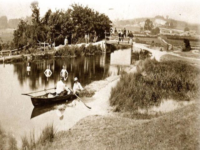 © Rivers Access for All - Itchen Navigation at Tonbridge, Winchester, 1875, From Winchester City Museum