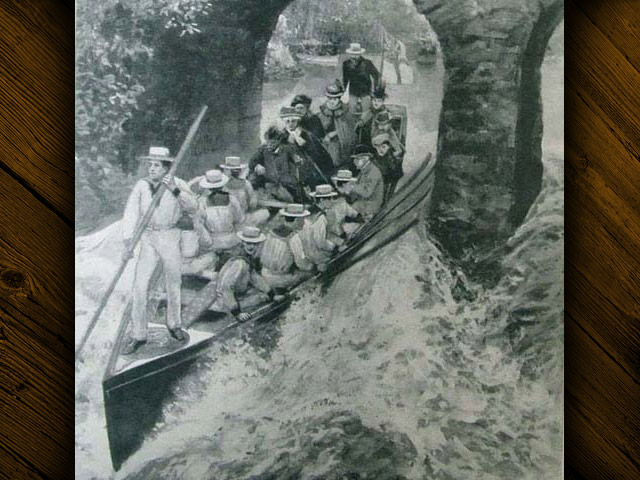 © Rivers Access for All - London News, 1897 Queen rides rapids